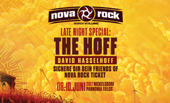Nova Rock 2017 Tickets