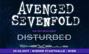 Avenged Sevenfold / Disturbed / Chevelle Tickets