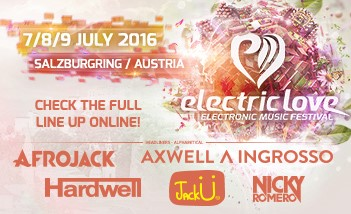 Electric Love Festival Tickets