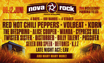 Nova Rock 2016 Tickets