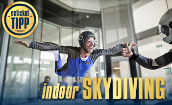 Indoor Skydiving - Tickets