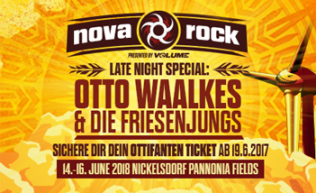 Nova Rock 2018 - Tickets