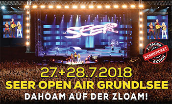 Seer Open Air 2018 Grundlsee - Zlaim Area - Tickets