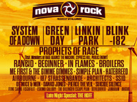 Nova Rock - Linkin Park und Blink 182 am Nova Rock 2017