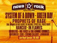 Nova Rock - System of a Down und Green Day am Nova Rock 2017